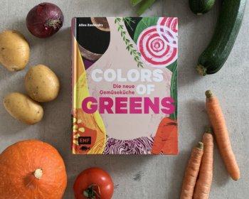 Alice Zaslavsky: Colors of Greens, Kochbuch